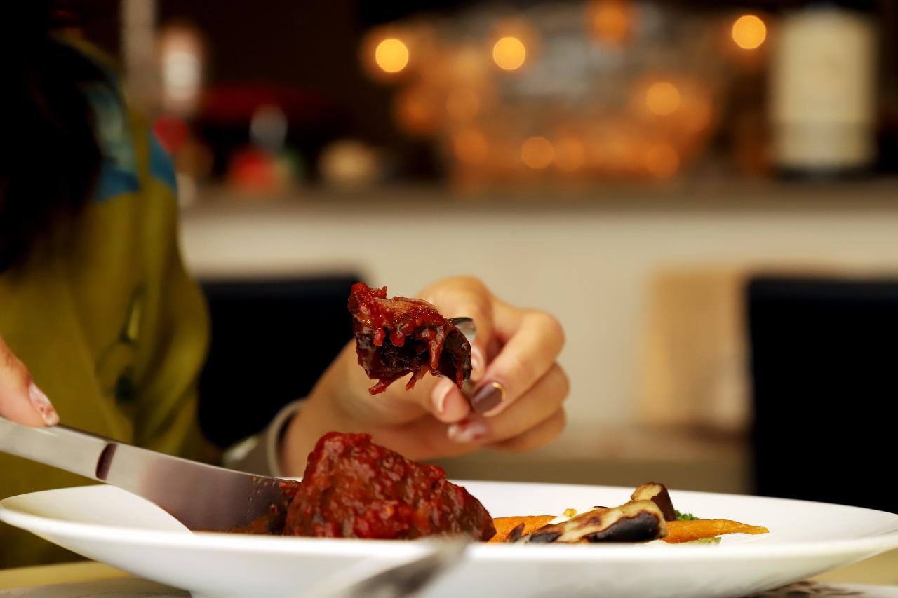 国産ほほ肉のカチャトーラ