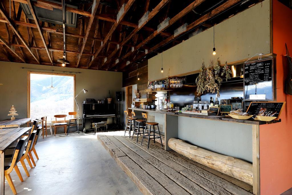 CAFE山歩 SANPO 山梨市 カフェ