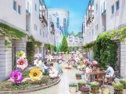 回廊の花咲くリゾナーレ2021