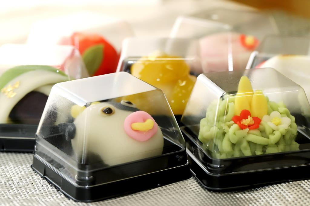 澤田屋の新春上生菓子