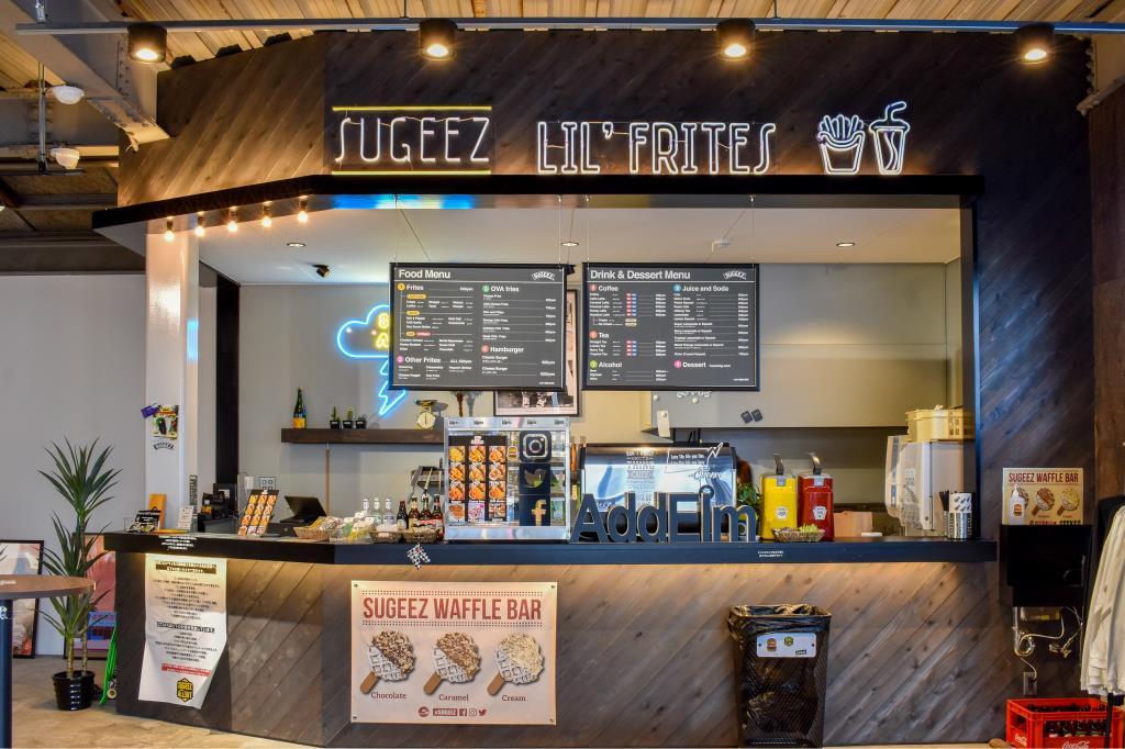 SUGEEZ lil'frites(山中湖店)ハンバーガー3