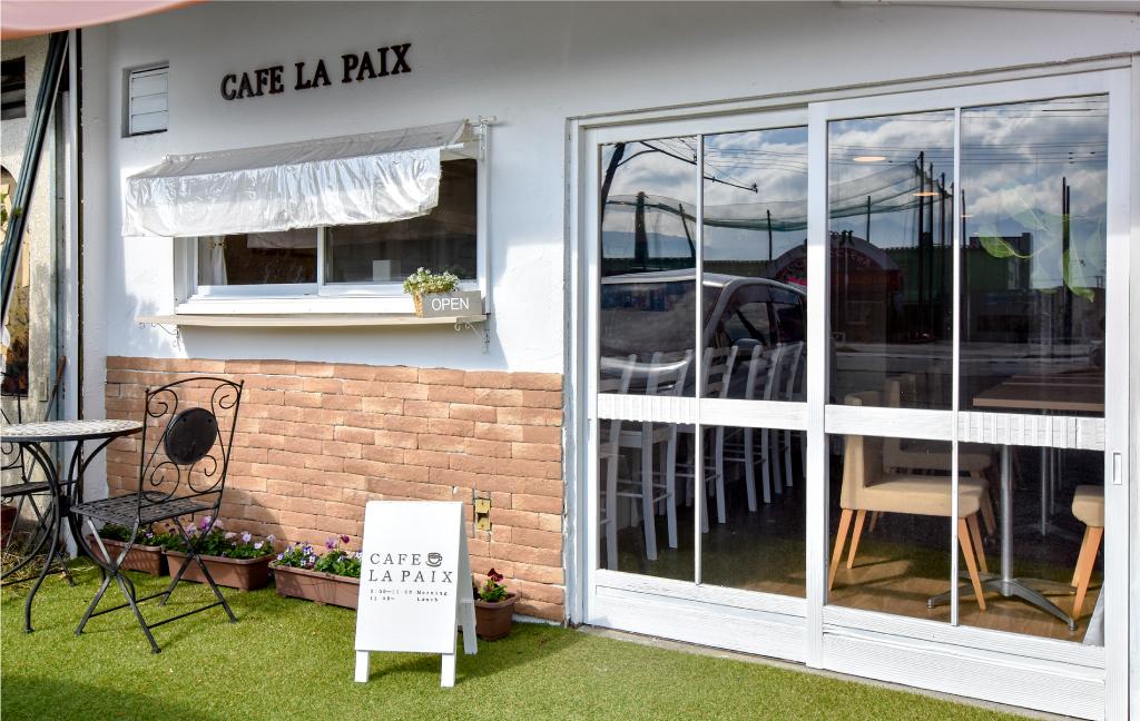 CAFE LA PAIXの外観