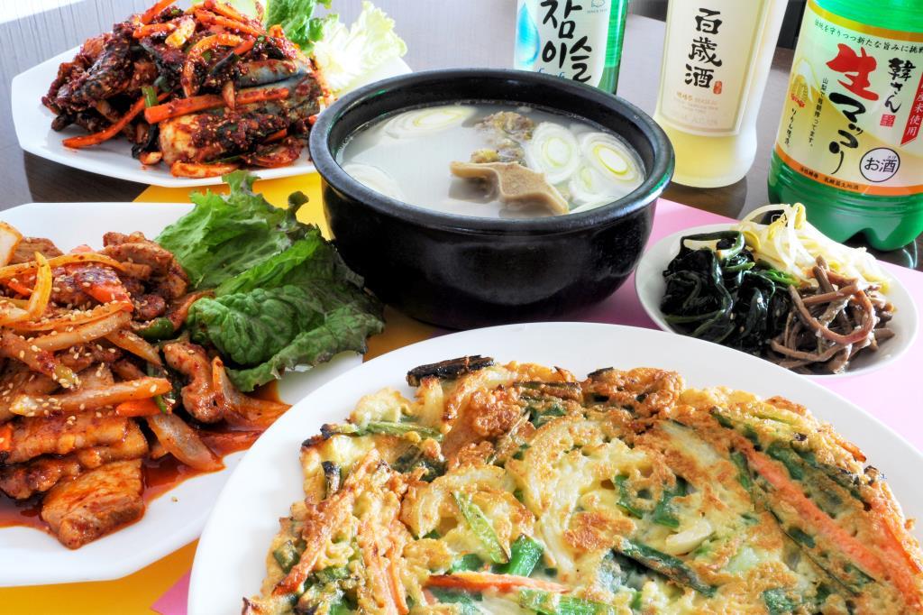 韓の食卓 甲府 韓国料理