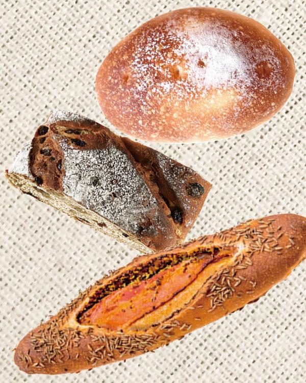 ごりらのパン屋さん 会場で購入できるパン