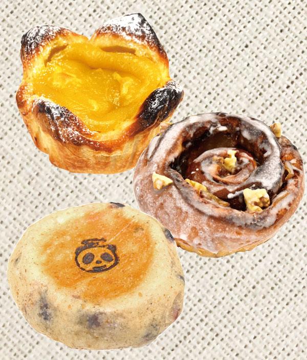 ぶどう畑のパン屋さんhana panda(ハナパンダ) 会場で購入できるパン