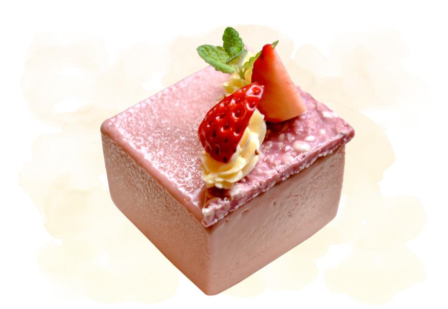 Café Karfaのケーキ「ルビーショコラ」