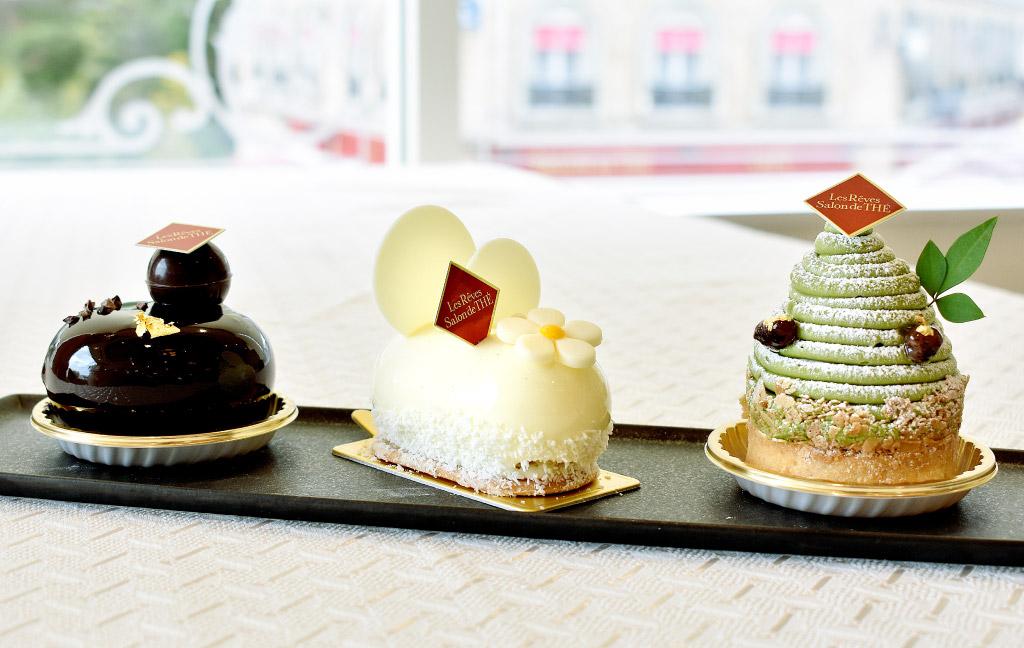 ITALIAN&BAKERY MACARONI CLUB(マカロニクラブ)のケーキ「タルトデヴェール」「アンジュ」「パッション」