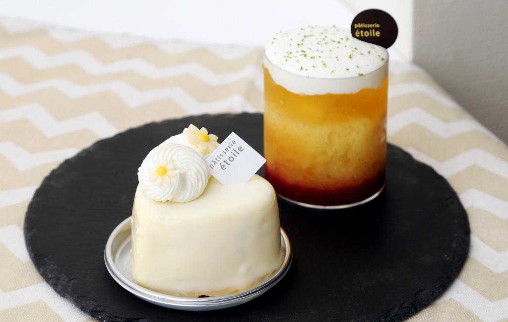 パティスリーエトワールのケーキ「ミストラル」「サバラン・ピエール」