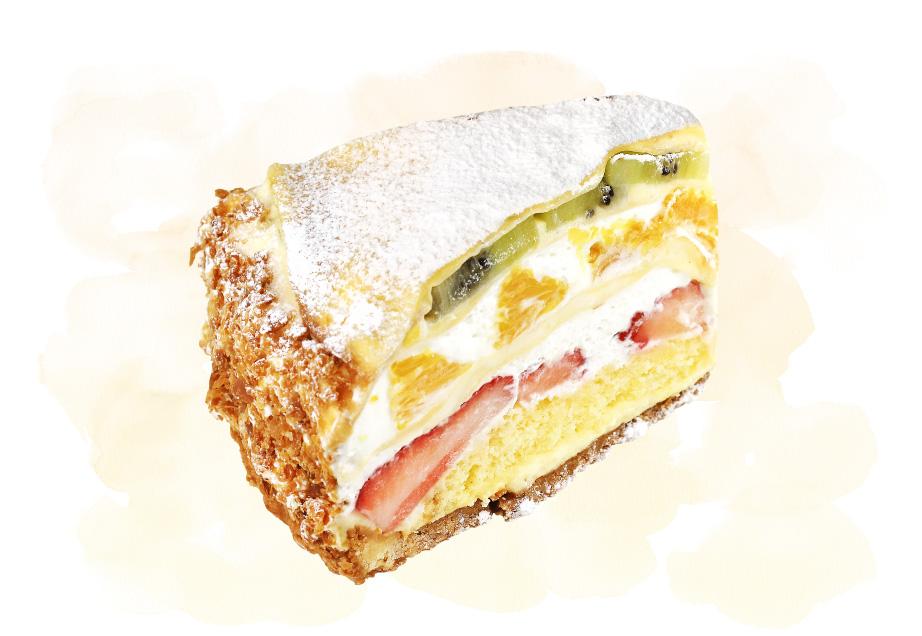 Patisserie Ravi(パティスリーラヴィ)のケーキ「ミルクレープのタルト」