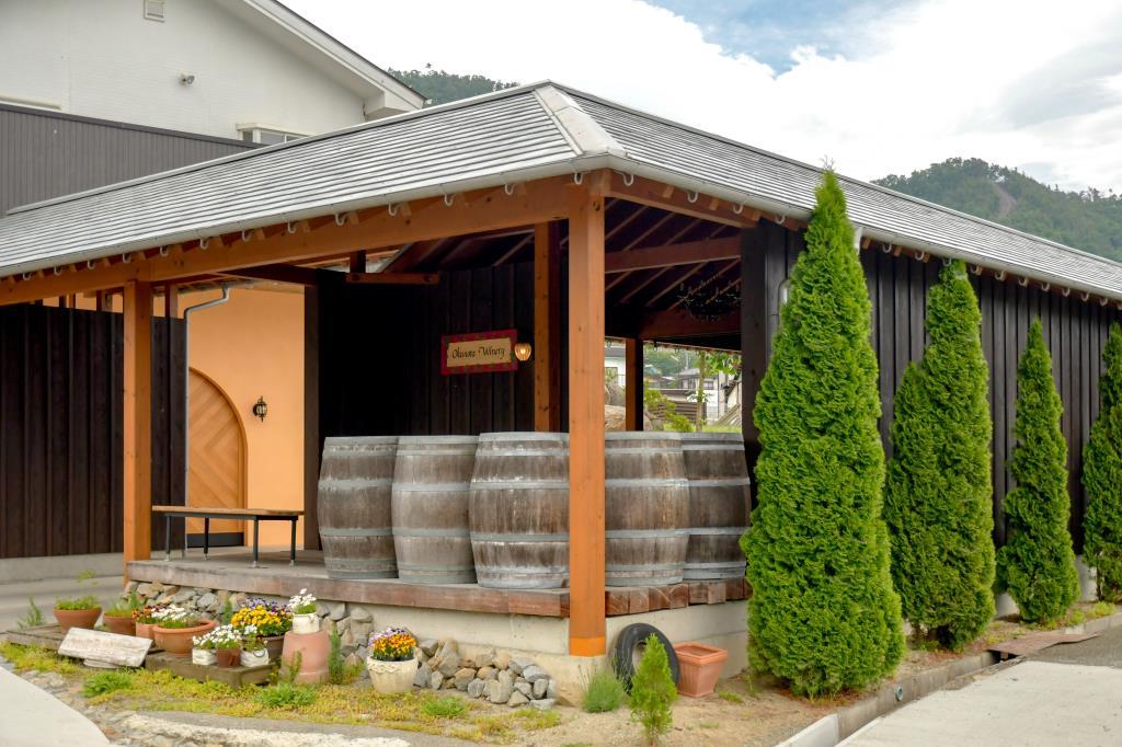 奥野田葡萄酒醸造株式会社 甲州市 ワイナリー1