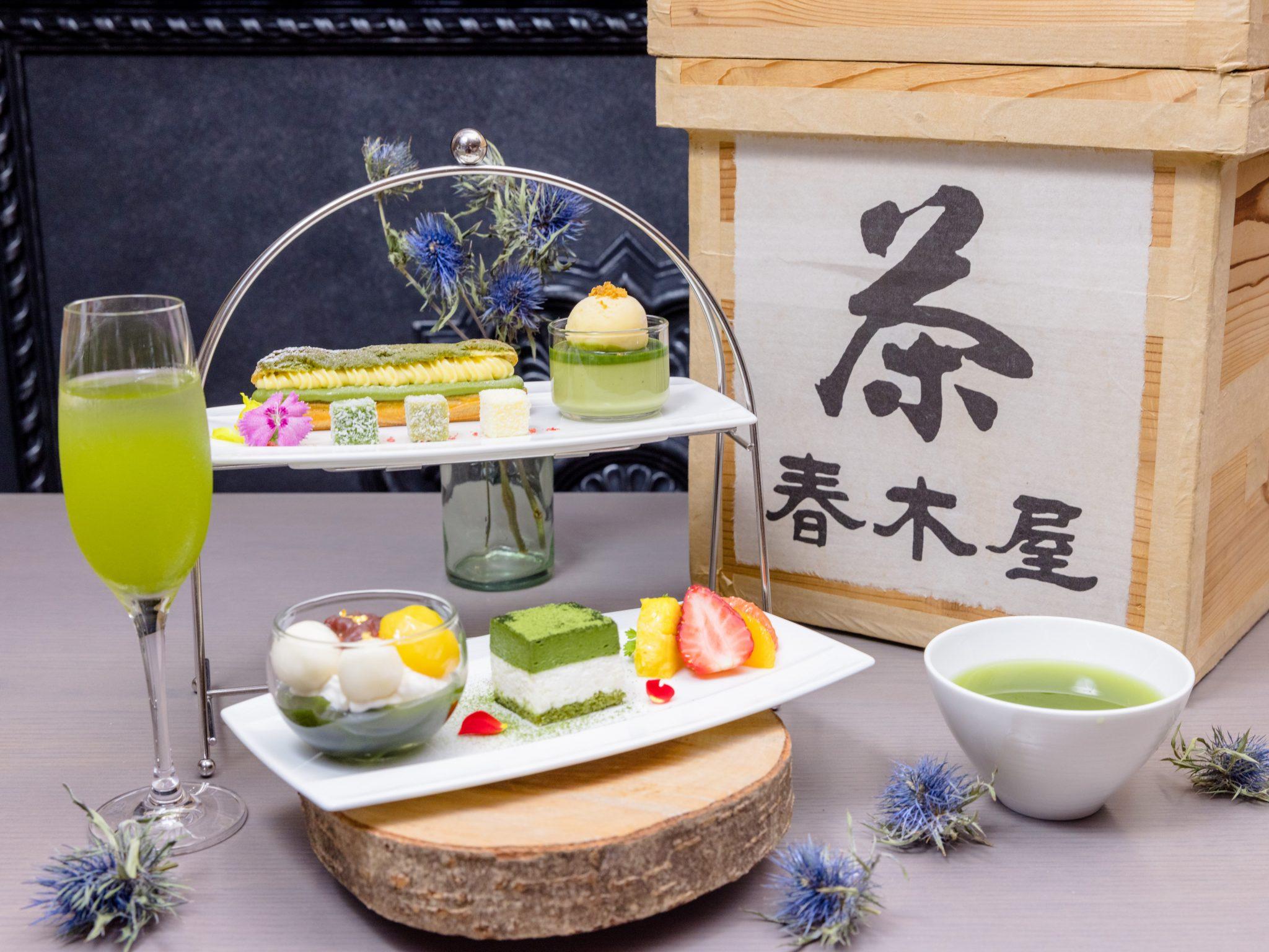 お茶の春木屋×ネオスミラベル限定カフェ