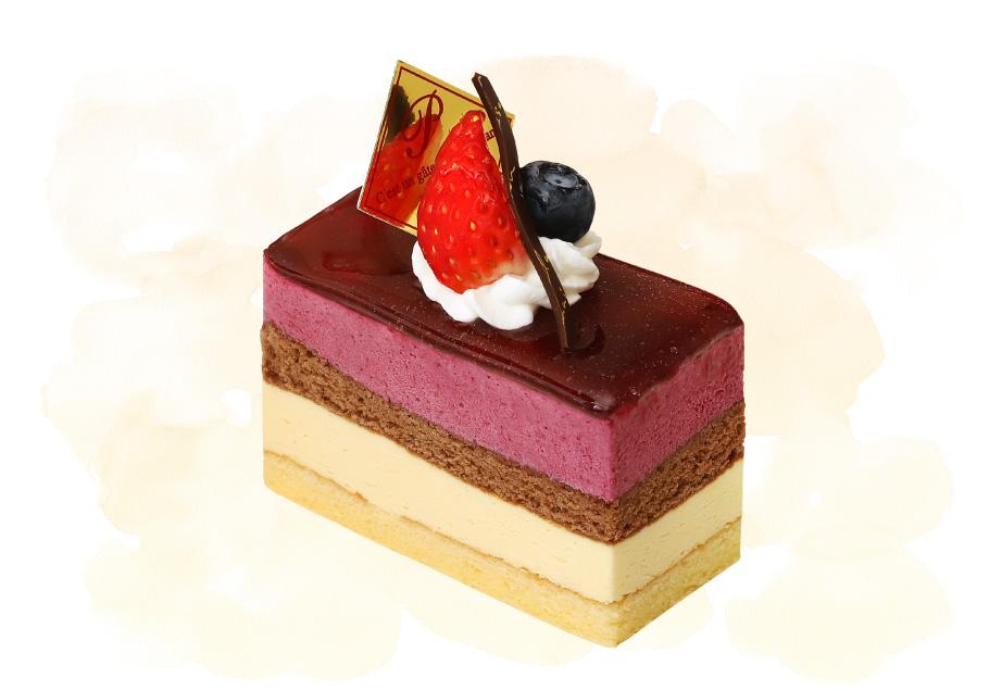 フランス菓子の店 巴里のケーキ「カシス」