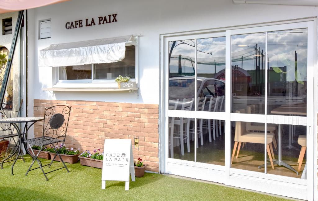 フレンチトースト専門店 CAFE LA PAIXの外観
