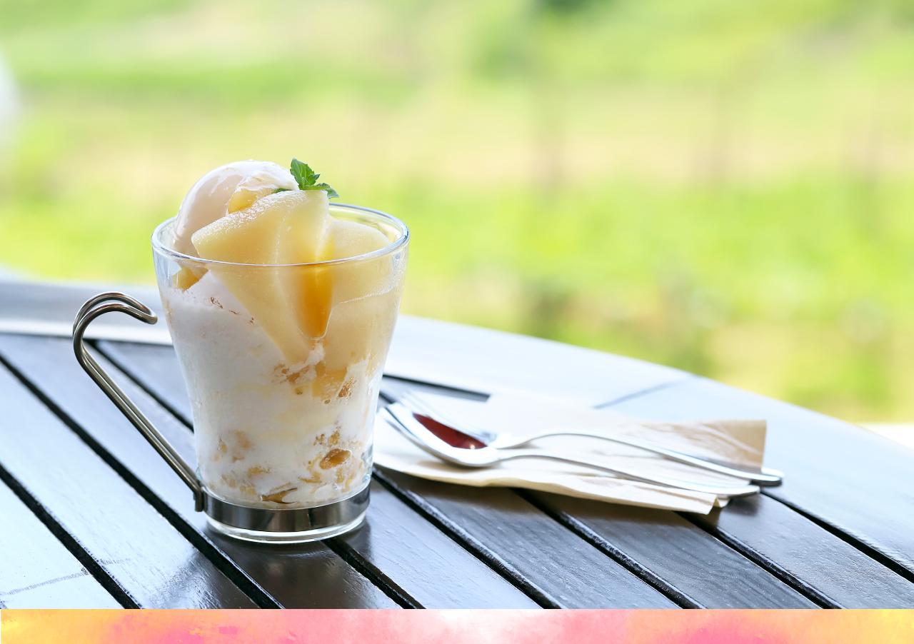 やまきやカフェ かき氷
