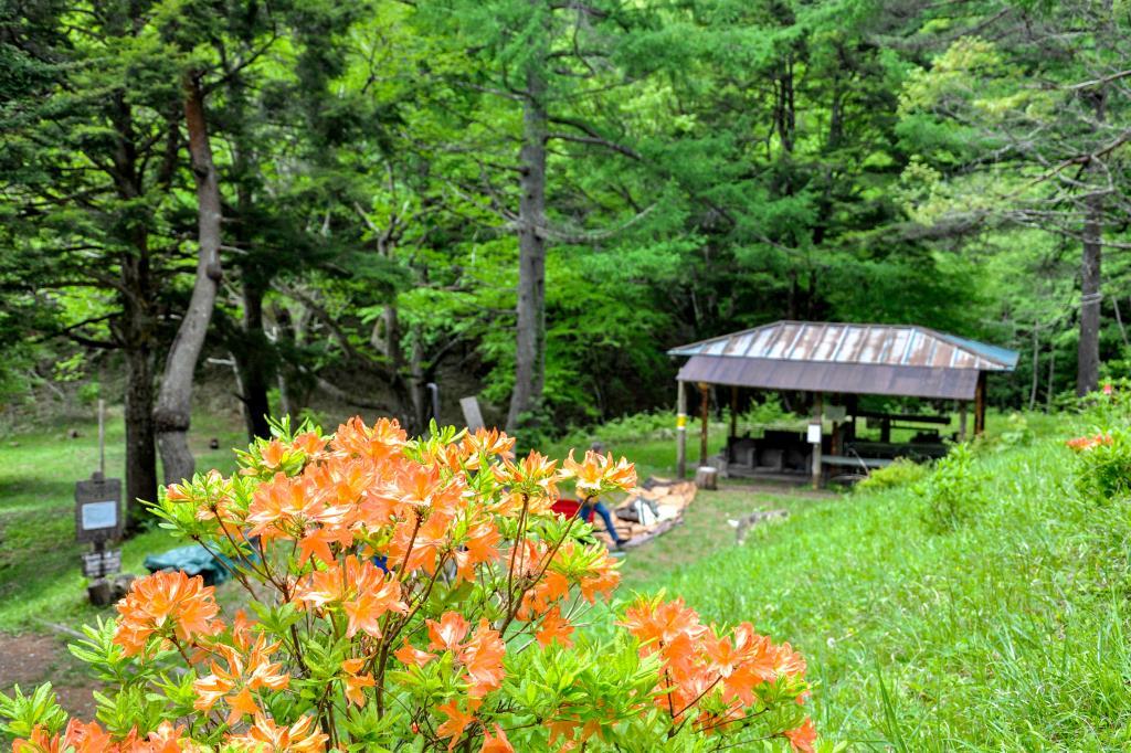 白鳳荘・さわら池キャンプ場 韮崎3