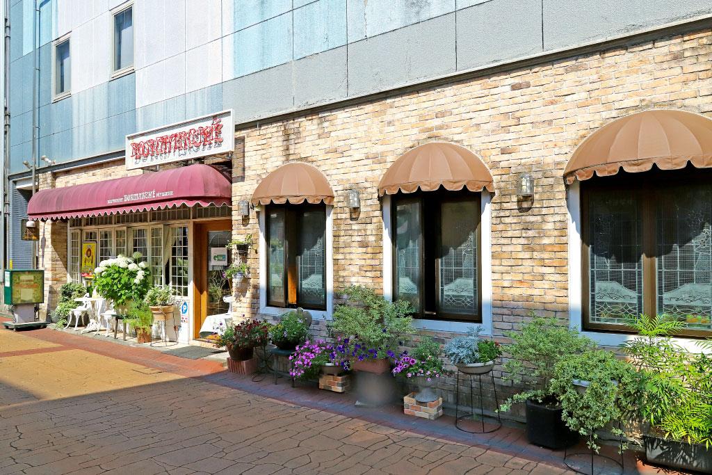 レストラン ボンマルシェの外観