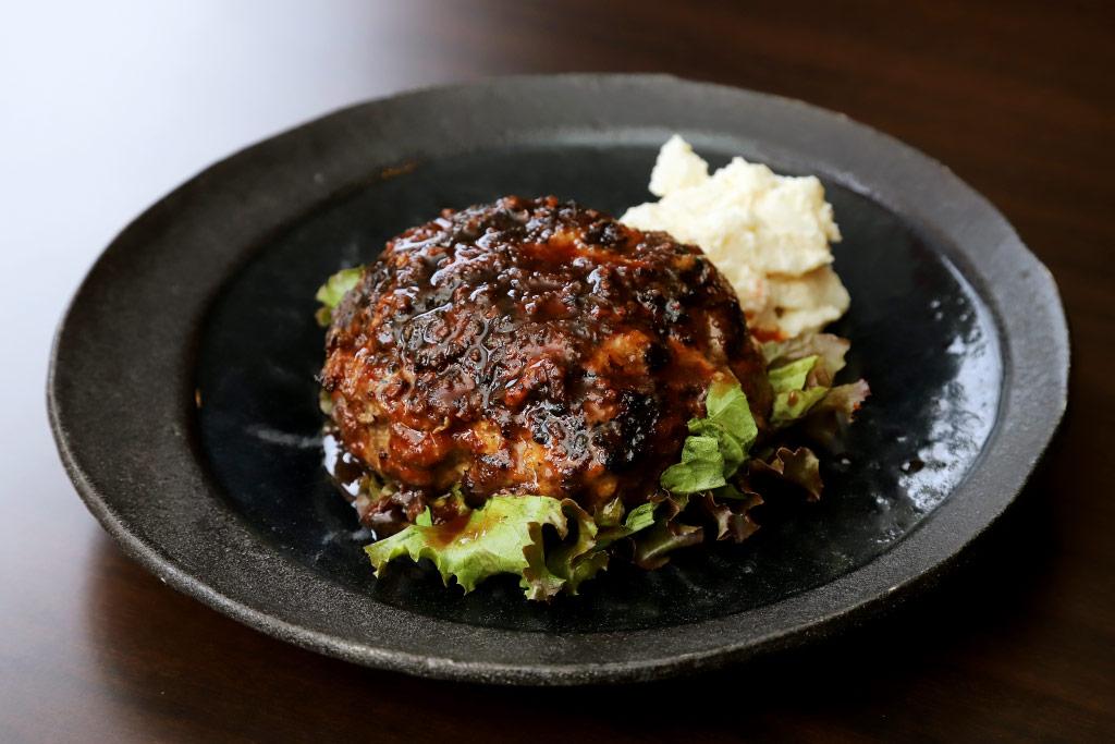肉ビストロ KAGURAのハンバーグ2
