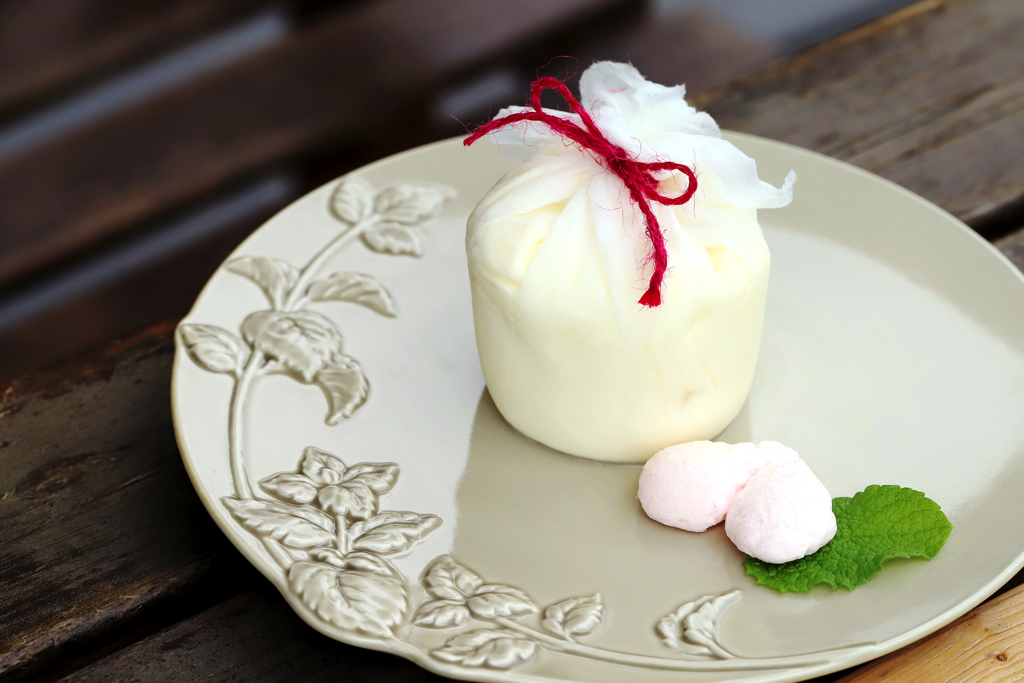 桃農家カフェ ラ・ペスカ 桃のクレームダンジュ