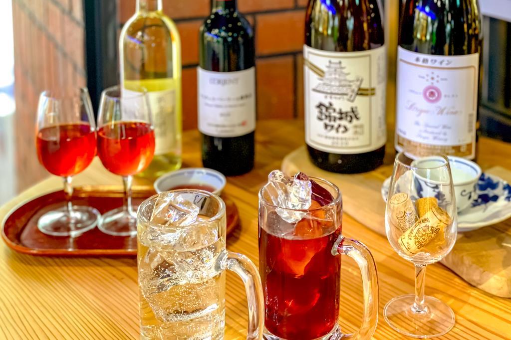 甲府駅 カフェ&ワインバー 葡萄酒一番館1