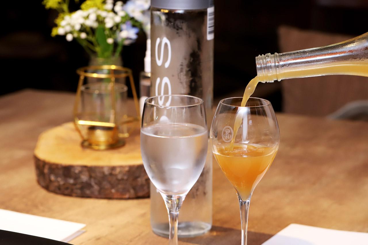 レストラン ラクールのノンアルコールワイン「THE MID」1