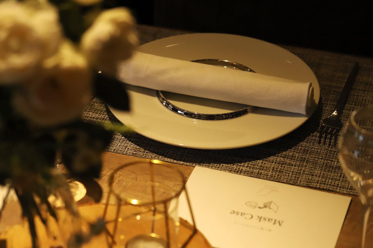 レストラン ラクールのテーブル