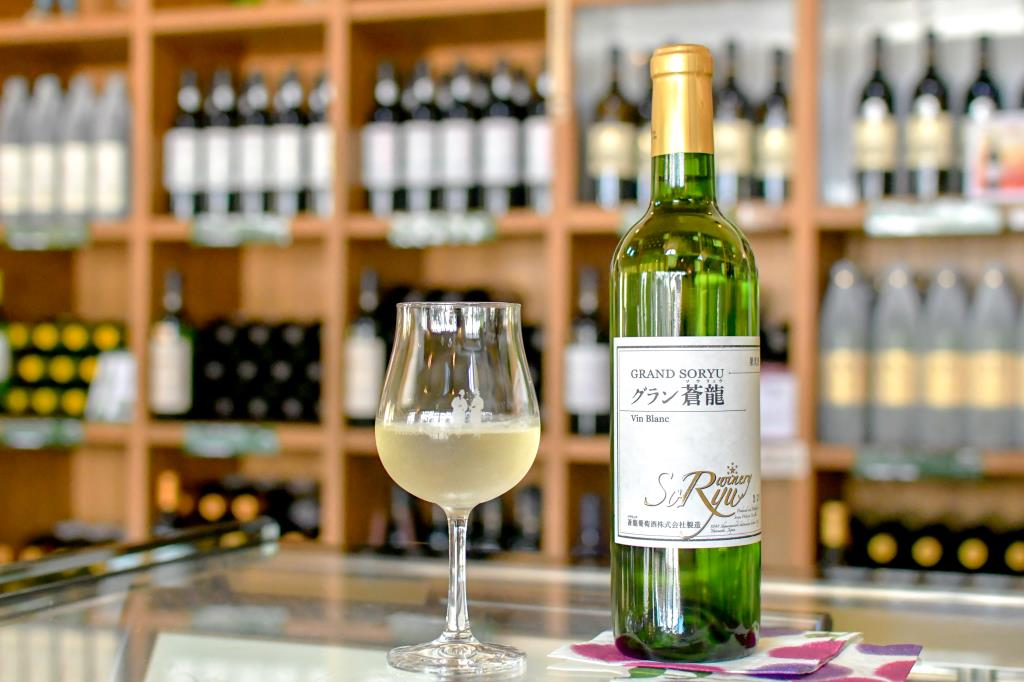 蒼龍葡萄酒株式会社(SORYU WINERY) 勝沼 ワイナリー3